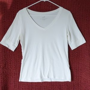 J.Jill v- neck Tee / blouse